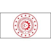 Sanayi ve Teknoloji Bakanlığı Bayrağı (Yeni Logo) 70x105cm
