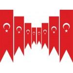 Türk Kırlangıç Flama (50x200 cm)