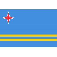 Aruba Bayrağı 70x105cm